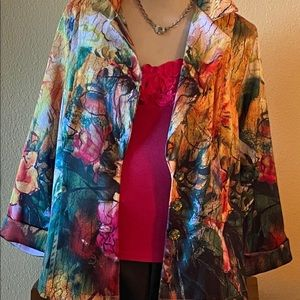Multi Colored Jacket by Impulse